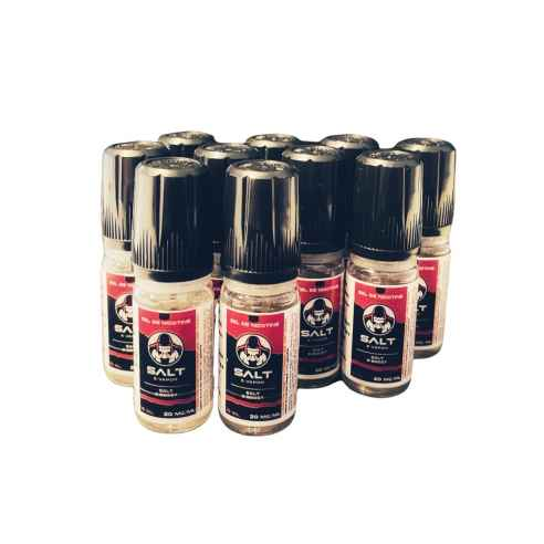 Pack 10 boosters Sels de Nicotine...